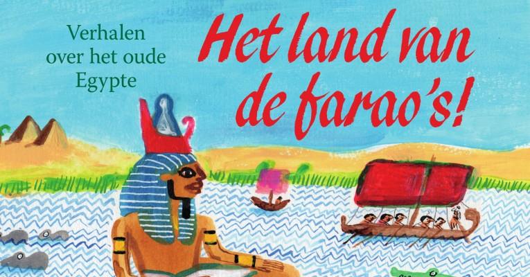 De kaft van het boek Het Land van de Farao's.