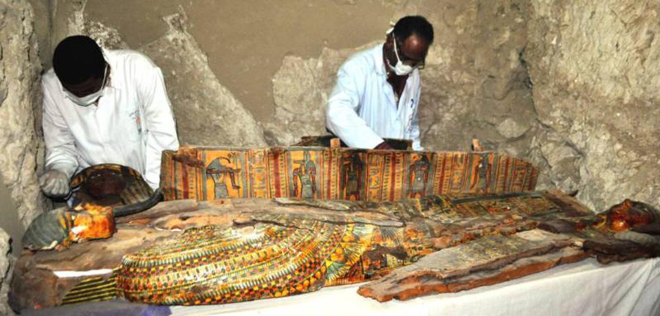 Bijzondere vondst in Egypte